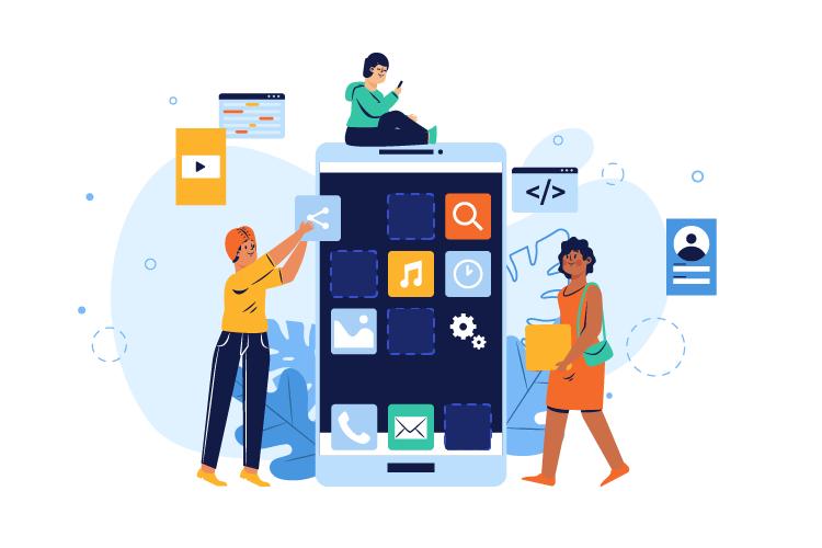 Hướng dẫn 10 bước để thiết kế app cho người mới bắt đầu