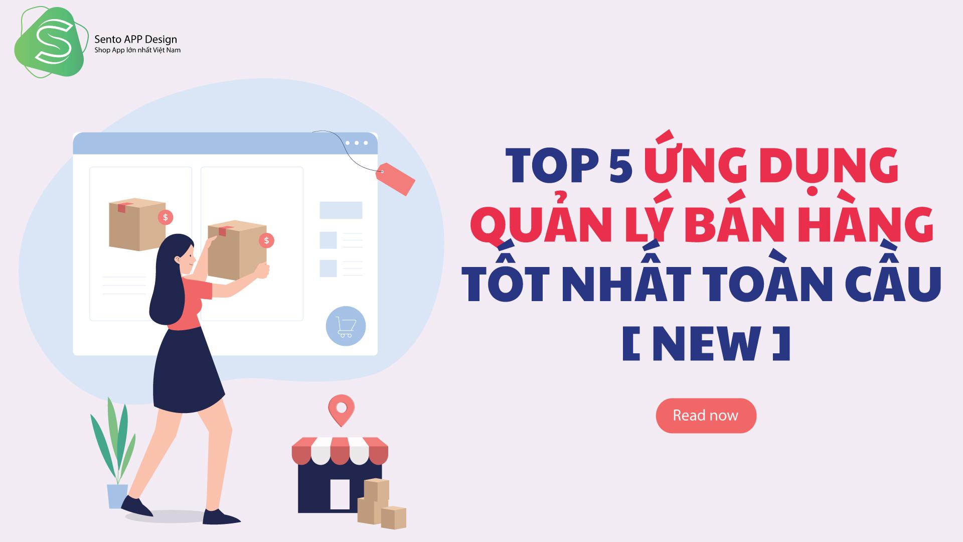 TOP 5 ỨNG DỤNG QUẢN LÝ BÁN HÀNG TRÊN IPHONE TỐT NHẤT