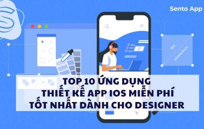 LIST 10 ứng dụng thiết kế app ios miễn phí tốt nhất dành cho designer