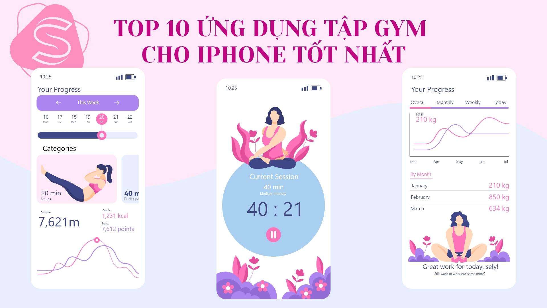 TOP 10 ứng dụng tập gym cho iphone tốt nhất 2021